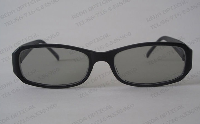 Linear Polarized Glasses